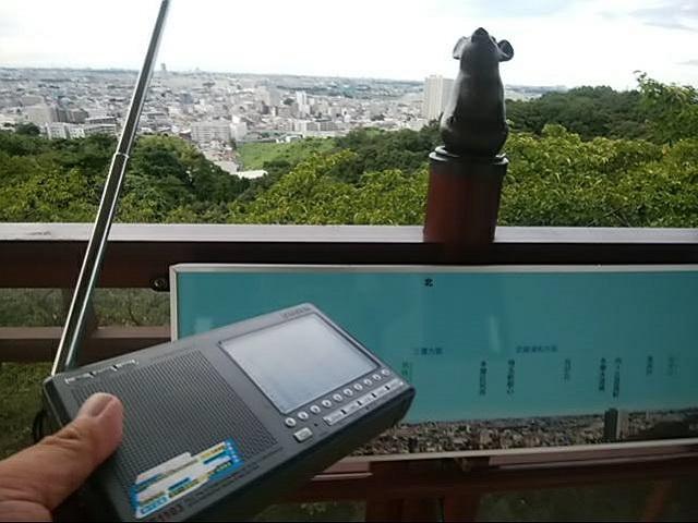 生田緑地 桝形山展望台で受信