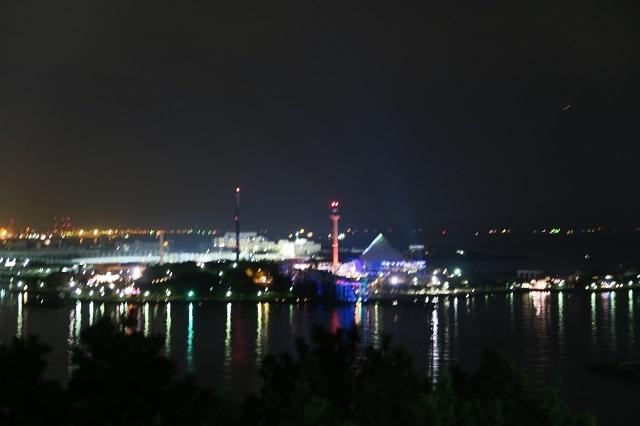 野島公園展望台からの夜景