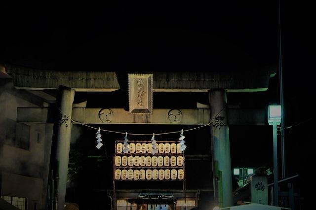 2018鶴見神社で初詣(1)