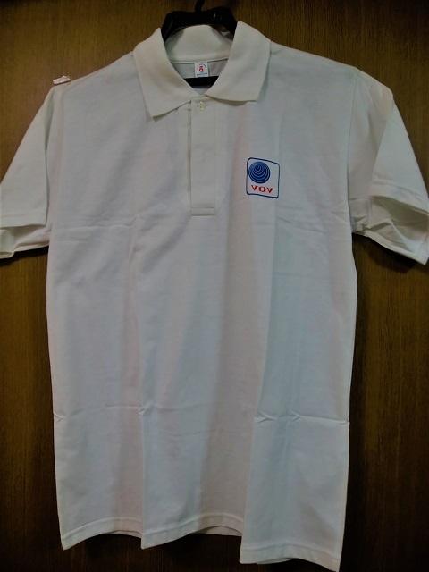 ベトナムの声ポロシャツ(表)