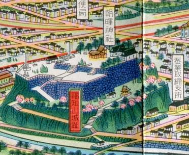 福知山鳥瞰図拡大3