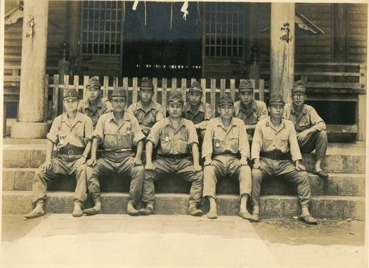 9敦賀歩兵第19連隊時代