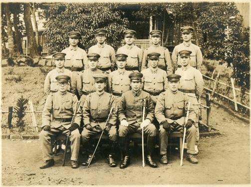 10伊庭隊准士官下士官団伍長時代