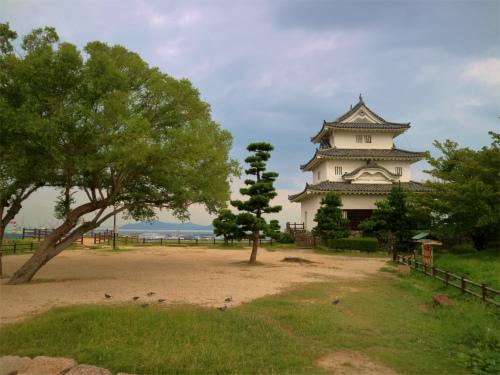 うどん県で丸亀城と丸亀うちわのパチリ旅