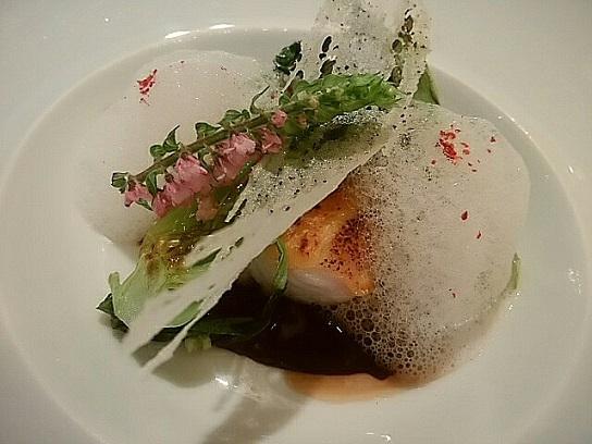 ガストロノミー ジョエルロブション お魚 (2)