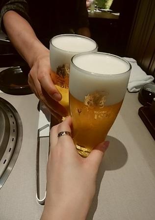 牛の蔵 渋谷 乾杯