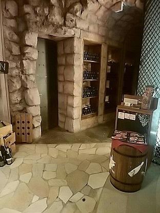 ワインホールグラマー 入口