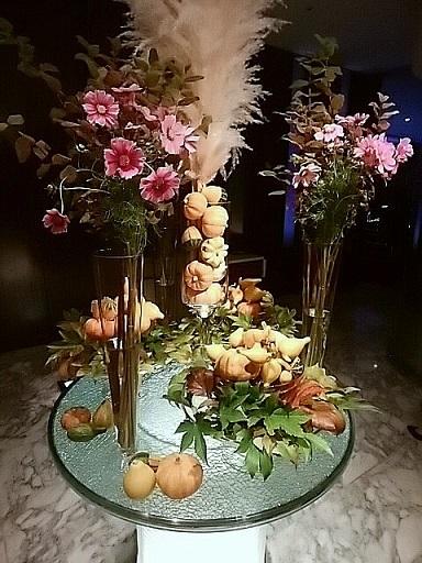 ステラガーデン プロモ 入口お花
