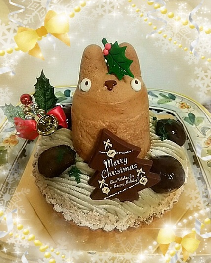 2017 クリスマスケーキ トトロ