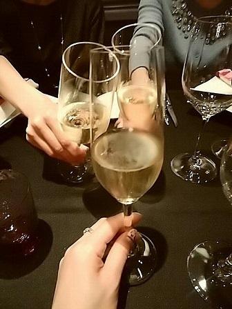 2017ロブション忘年会 乾杯