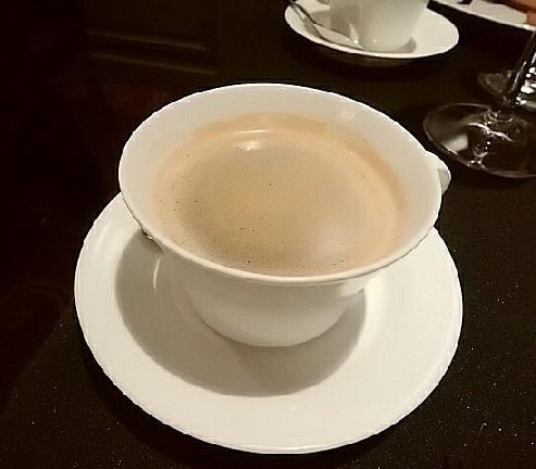 2017ロブション忘年会 コーヒー