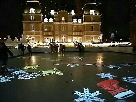 2017ロブション忘年会 スケートリンク&シャトー