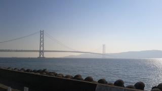 橋の見えるテラス