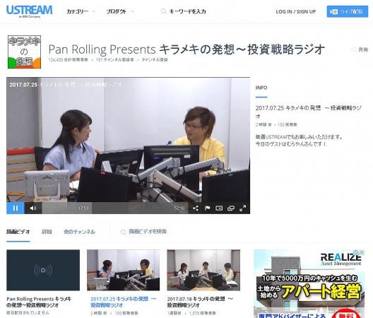 Pan Rolling Presents キラメキの発想~投資戦略ラジオ