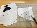 ハロウィン用ガイコツマスク作り方