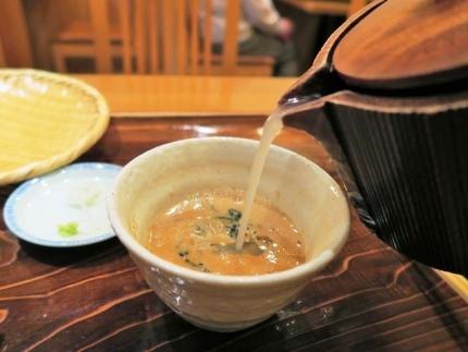 17-11-14 蕎麦湯