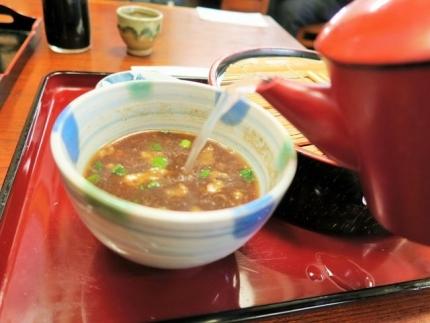 17-12-27 蕎麦湯