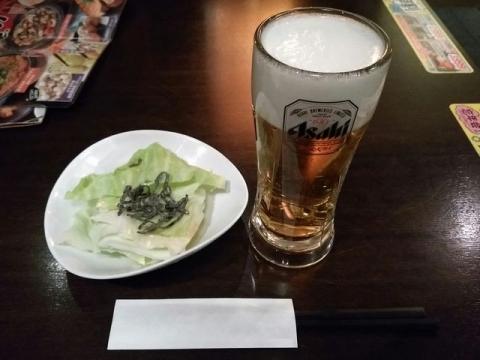 わたみん家・H28・10 生ビール