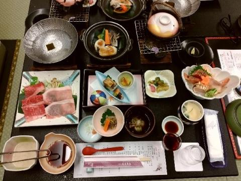 亀屋本店・H28・10 夕食