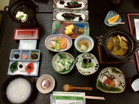 亀屋本店・H28・10 朝食