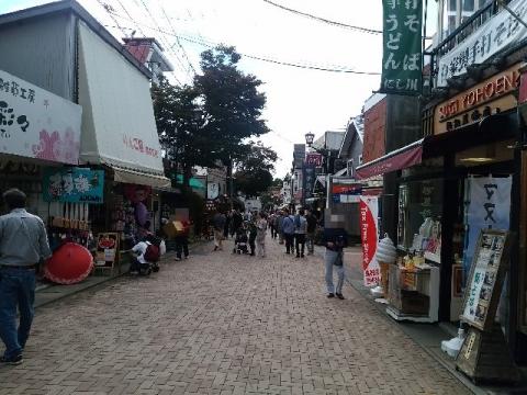 旧軽井沢・H28・10 通り2