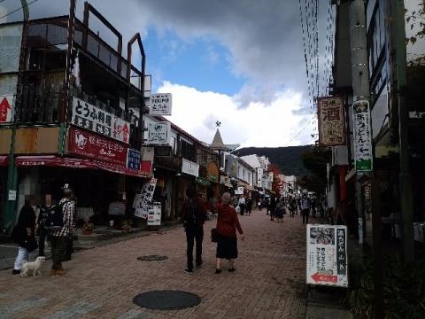旧軽井沢・H28・10 通り3