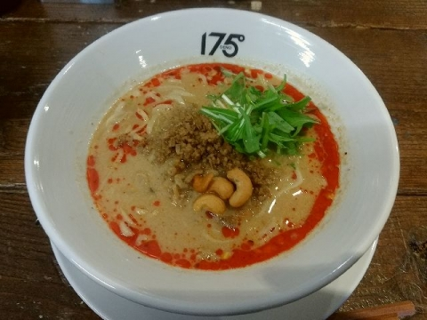 175°DENO担担麺・H29・11 汁あり坦坦麺