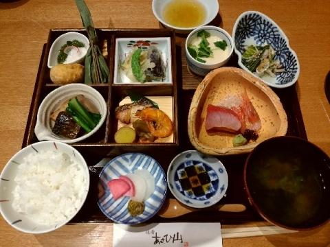 あさひ山・H29・3 松華堂弁当(花)