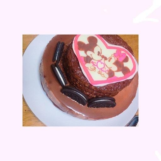 夏の手作りケーキ
