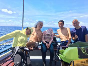 10月1日タオ島、海ブログ