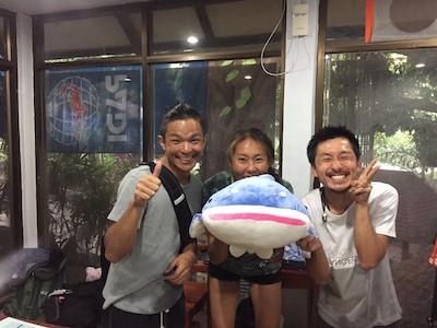 タオ島 体験ダイビング コーラルグランドダイバーズ ジンベエザメ