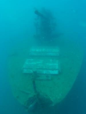 タオ島 ダイビング 沈船 サタクット