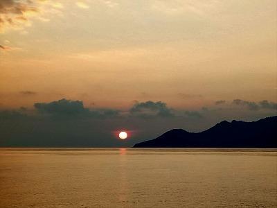 タオ島 朝日
