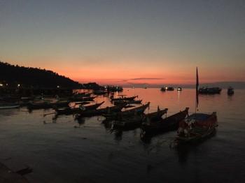 タオ島、夕日