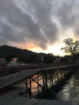 タオ島、朝日