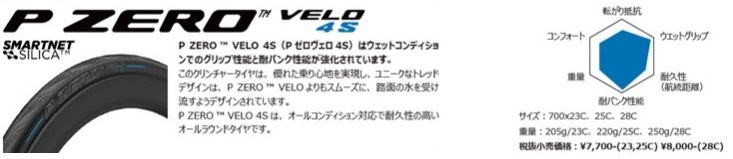 PIRELLI (ピレリ)P ZERO VELO 4S