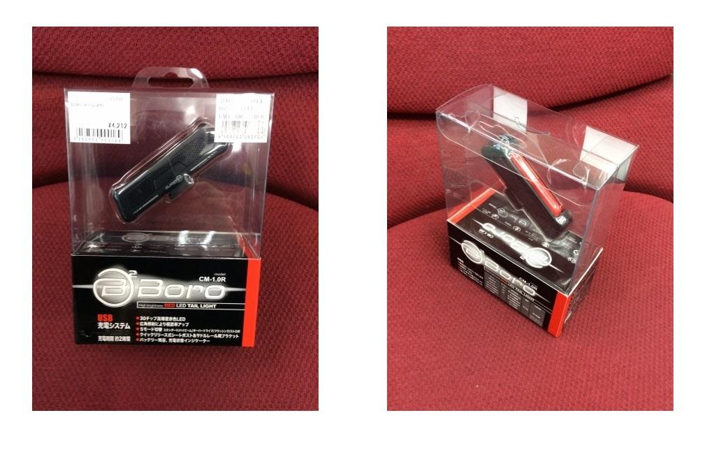 CM-1R USBテールライト