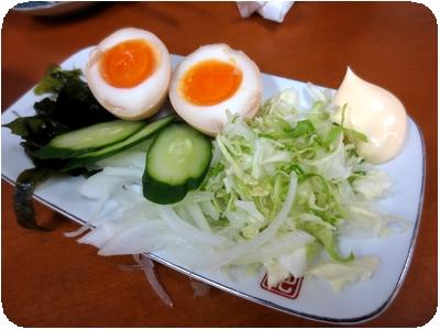 味つけ卵ミニサラダ