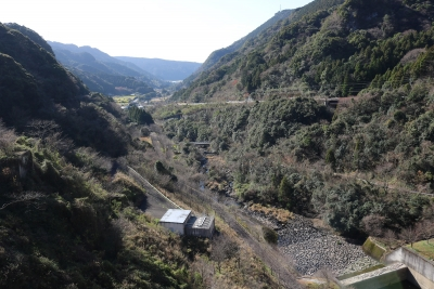 萱瀬ダム(3)