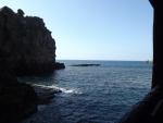 洞窟からの眺め