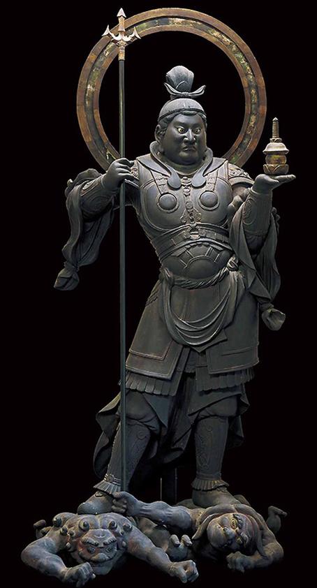 20171103 毘沙門天立像 1186 16㎝