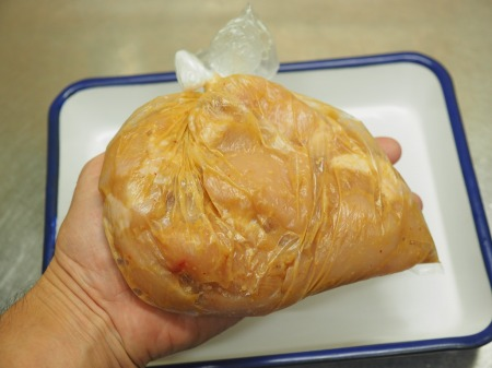 鶏むね肉の焼肉014