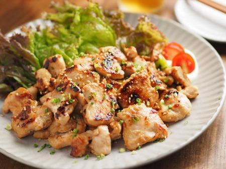鶏むね肉の焼肉057