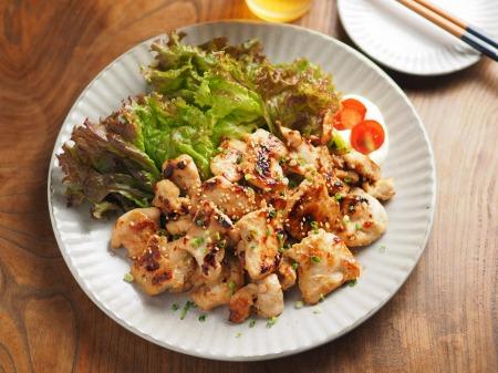 鶏むね肉の焼肉060