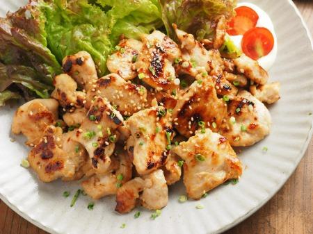 鶏むね肉の焼肉063