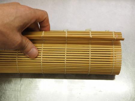 市販の具材で巻き寿司043