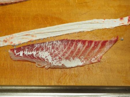 コロダイ刺身とあら鍋069