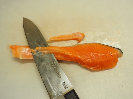 きのこと鮭のおつまみ南蛮045