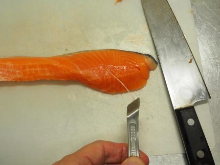 きのこと鮭のおつまみ南蛮046