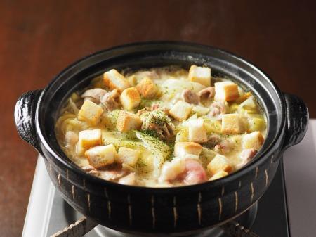 キャベツと豚肉のクリーム鍋006